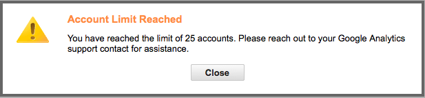 Google Analytics limits your account access, just like membership software can limit your user accounts.
