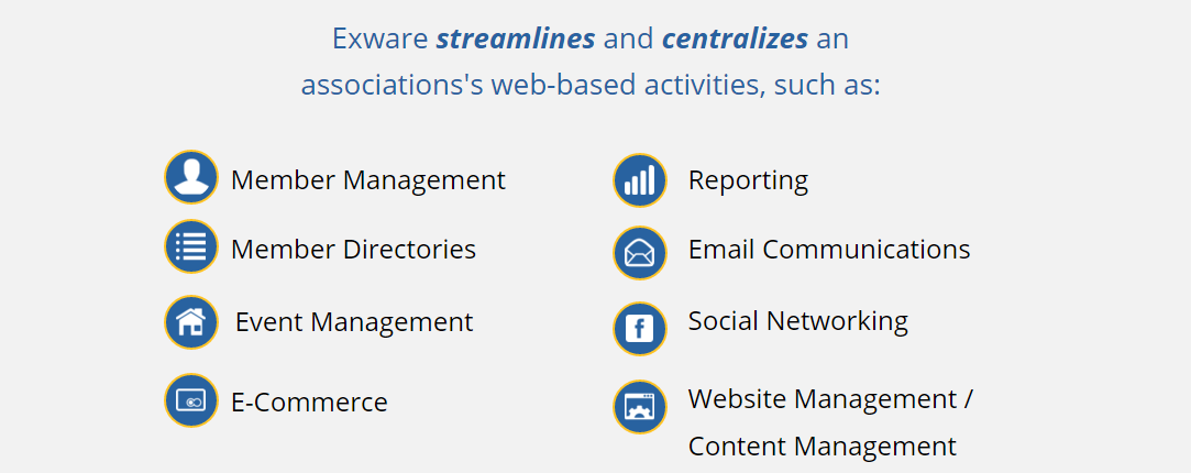 Exware showcases some of the key features every membership platform should have.