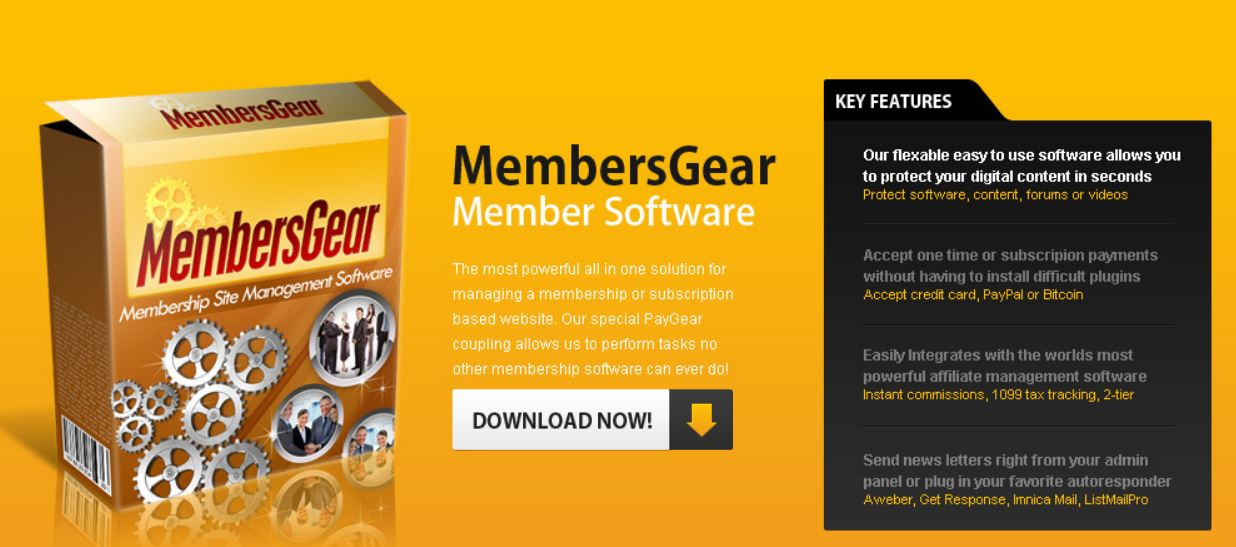 MembersGear is a great open-source member software platform for those with some technical knowledge.
