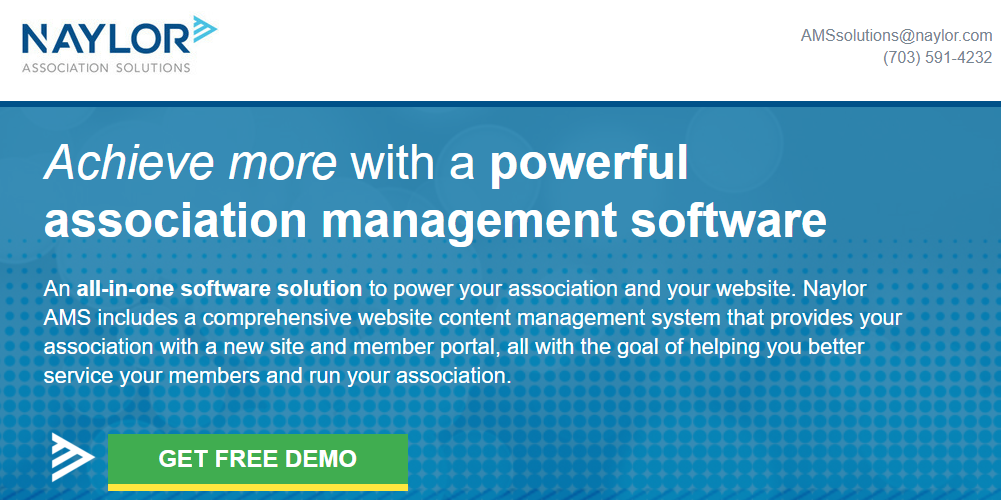 Naylor's Timberlake AMS offers membership management, accounting, website design, and more.
