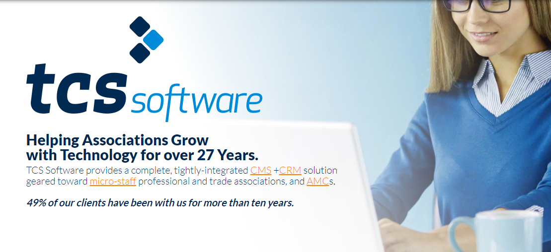 TCS Software offers membership management as well as website design and beyond.